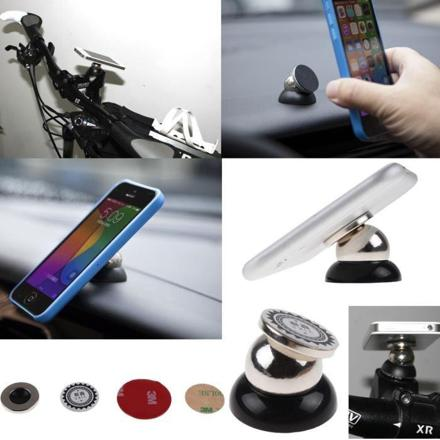 support magnetique telephone voiture