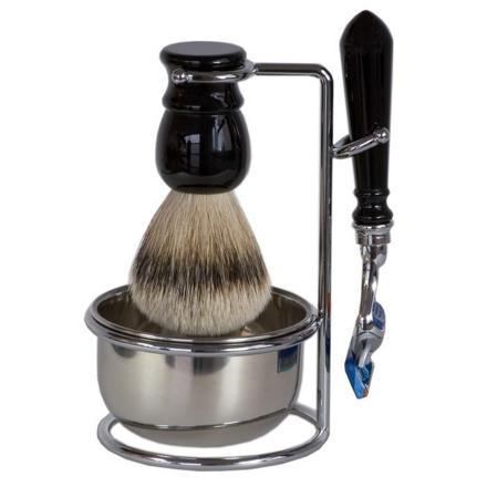 support pour rasoir et blaireau homme