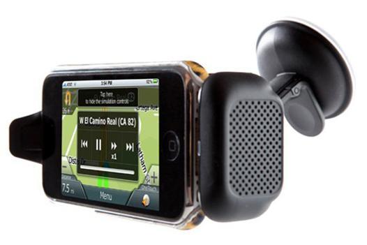 support telephone voiture avec haut parleur