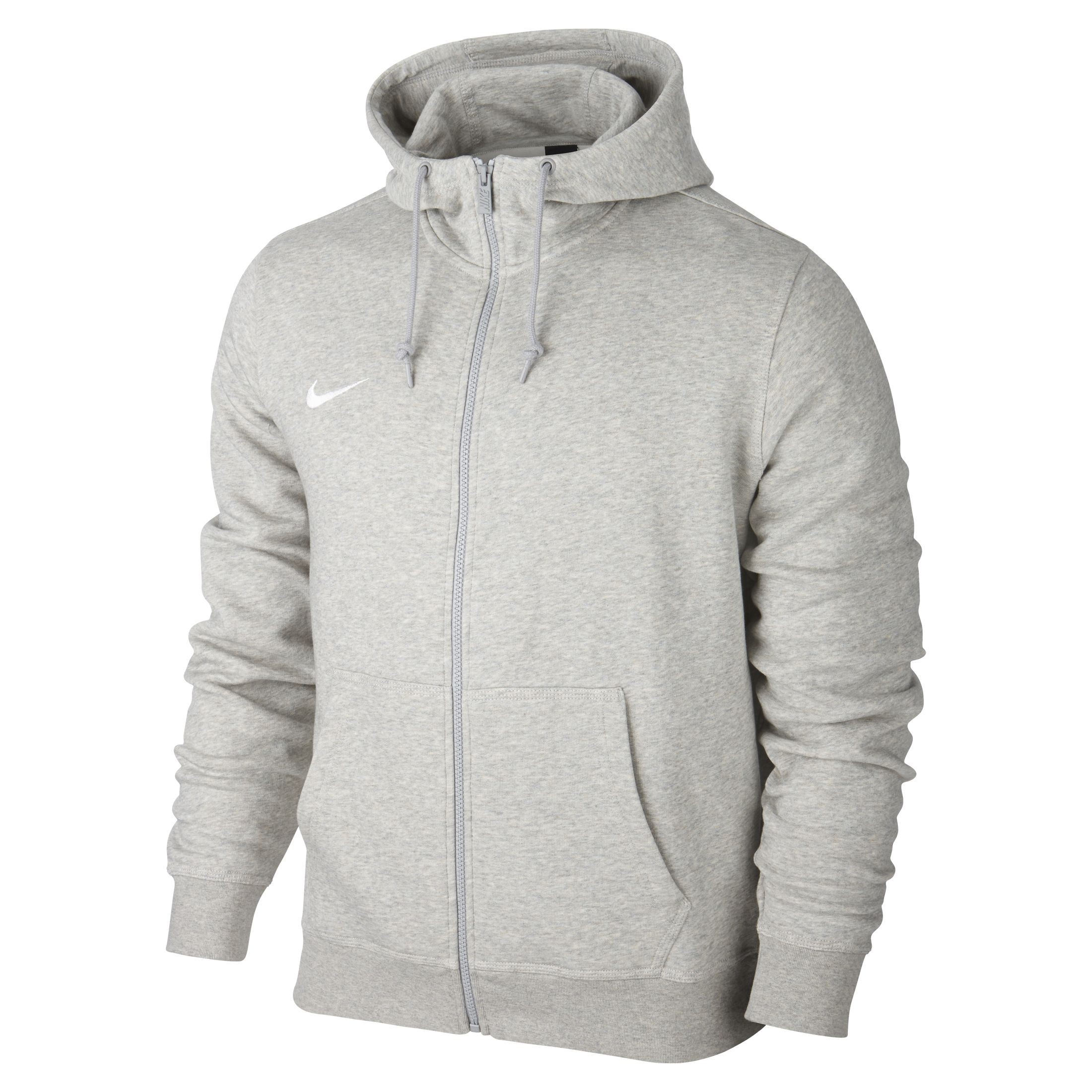 sweat nike gris capuche