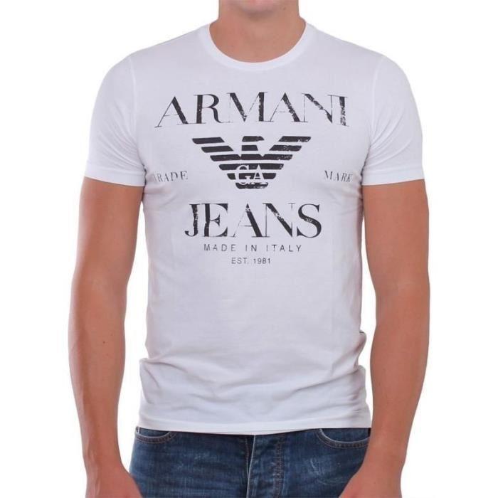 t shirt armani jeans homme