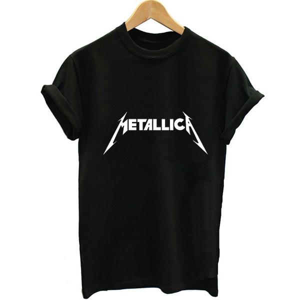t-shirt metallica femme
