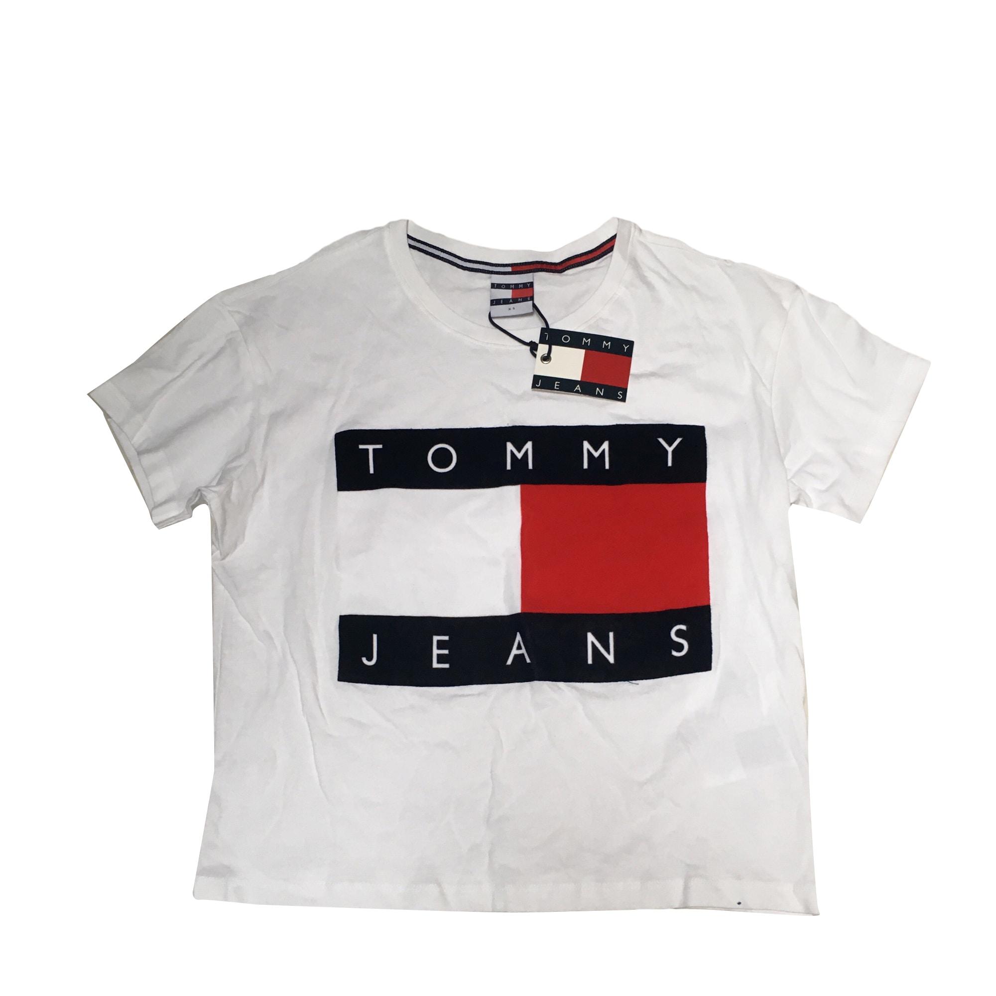 t shirt tommy hilfiger blanc