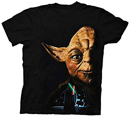 t-shirt yoda