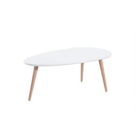 table basse ovale scandinave