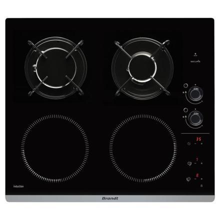 table de cuisson mixte gaz induction