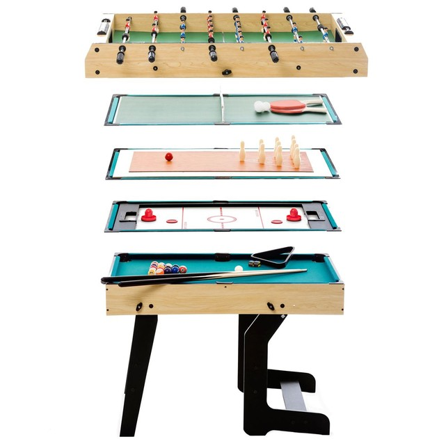 table multi jeux pliable