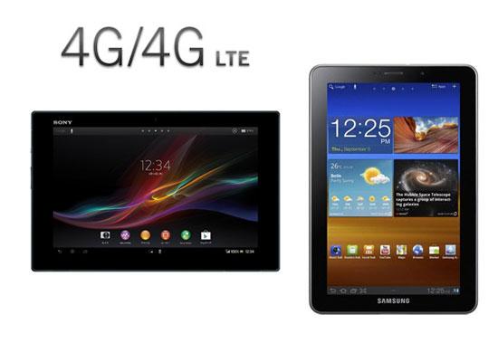 tablette 4g+