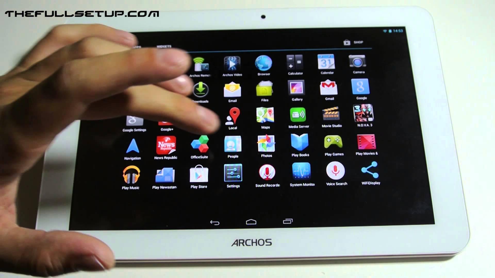 tablette archos 101 platinum