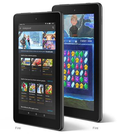tablette pas cher amazon