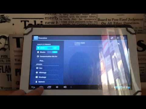 tablette polaroid bluetooth