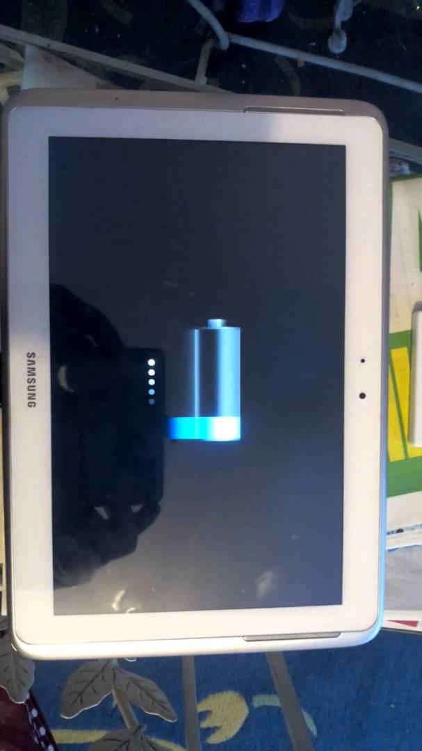 tablette samsung ne se recharge plus