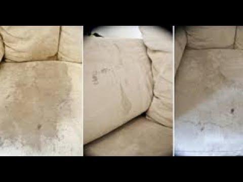 tache sur canapé en tissu