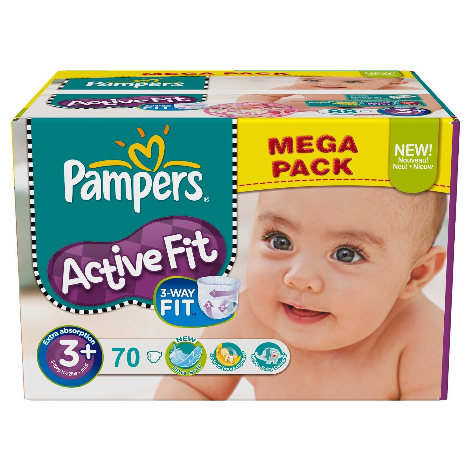 taille des couches pampers