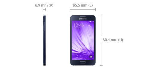 taille galaxy a3