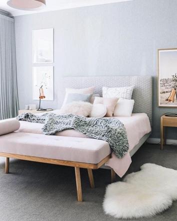 tapis chambre femme