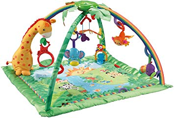 tapis eveil jungle fisher