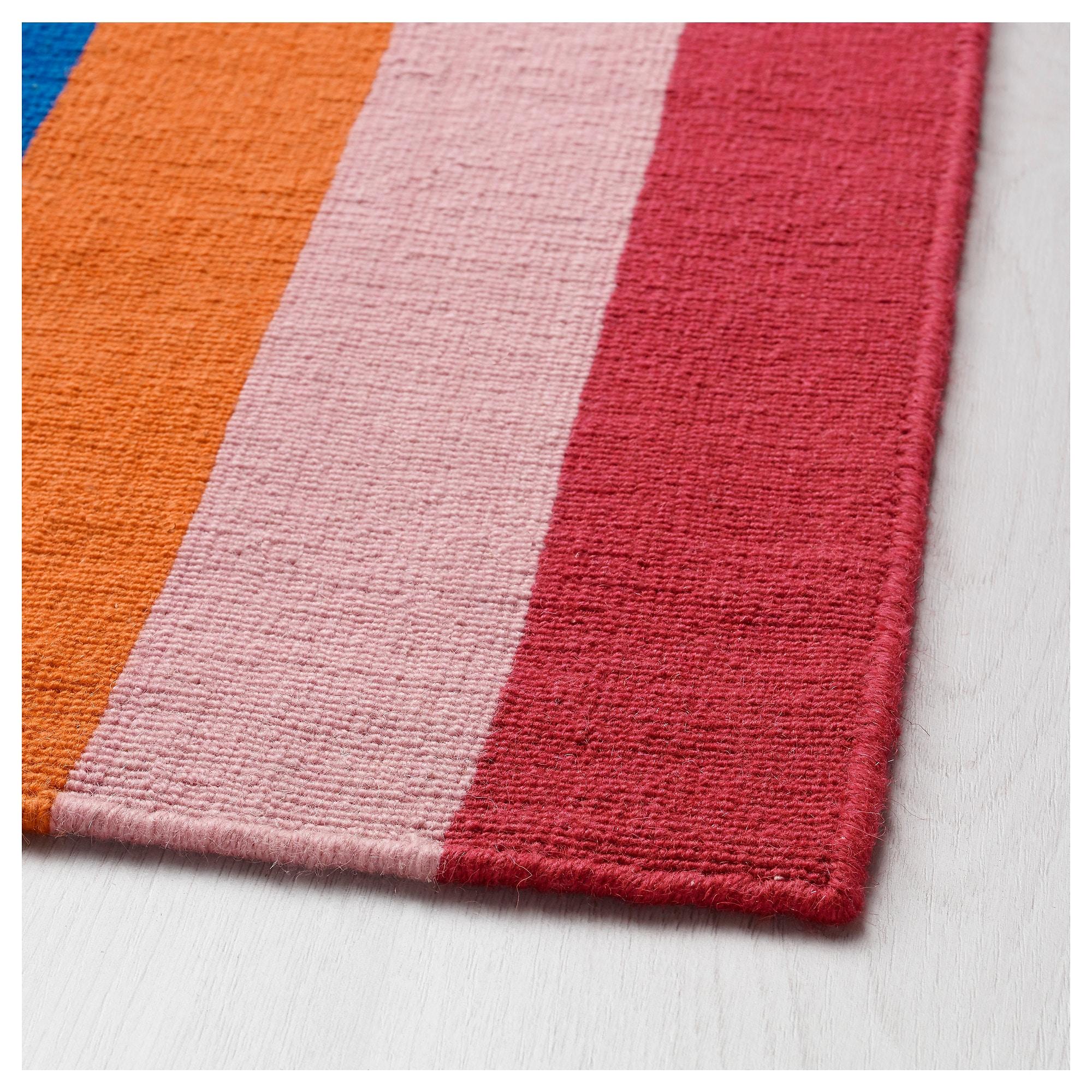 tapis multicolore ikea