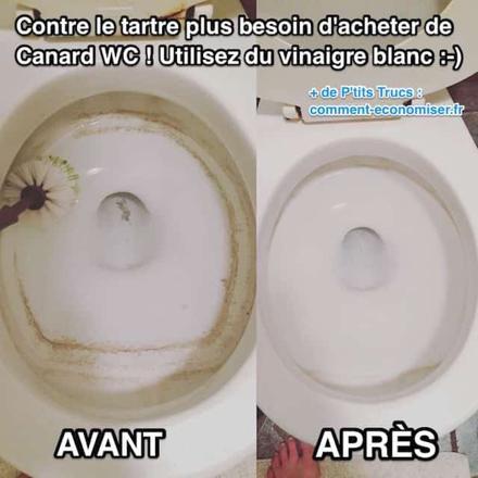 tartre wc