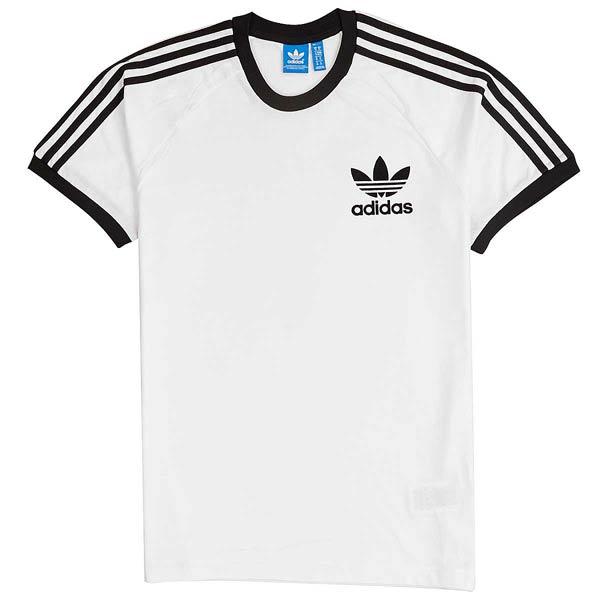 tee shirt adidas blanc