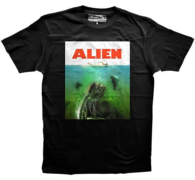 tee shirt alien