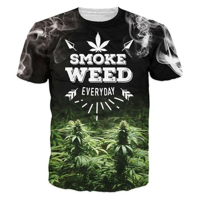 tee shirt homme cannabis