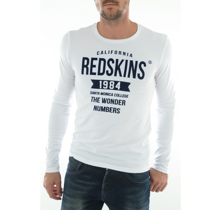 tee shirt homme redskins
