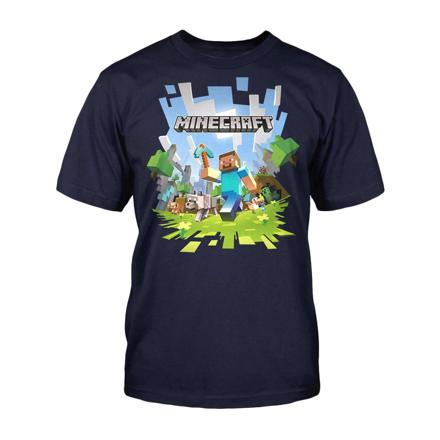 tee shirt minecraft 14 ans