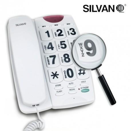 telephone fixe avec haut parleur