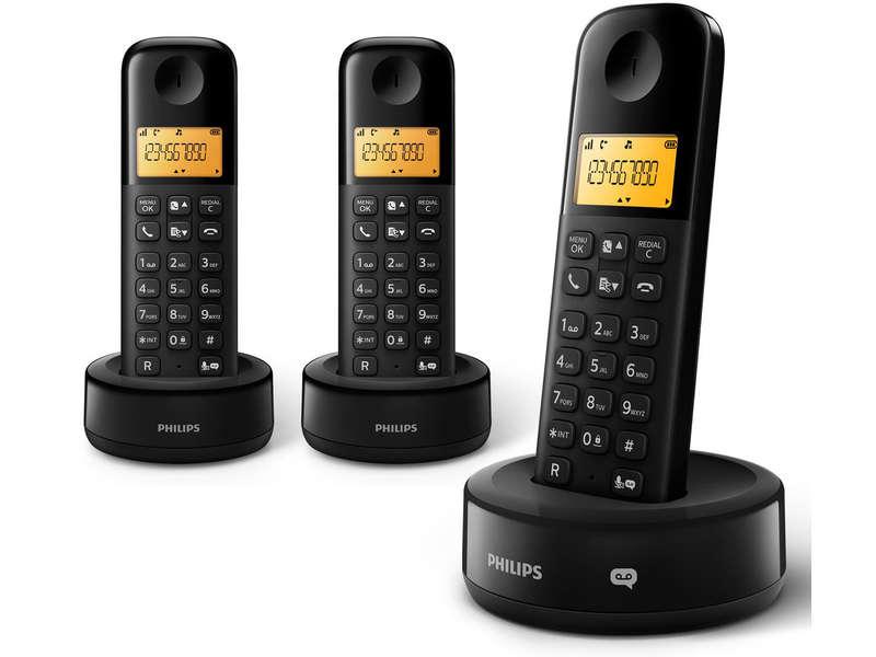 telephone fixe avec repondeur philips