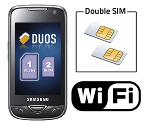 telephone portable double sim