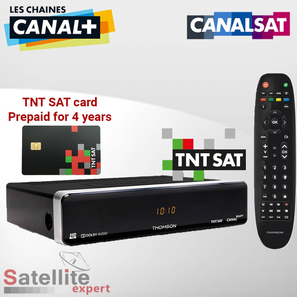 televiseur canal ready satellite