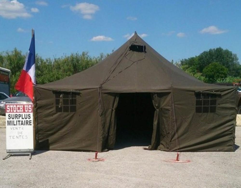 tente militaire