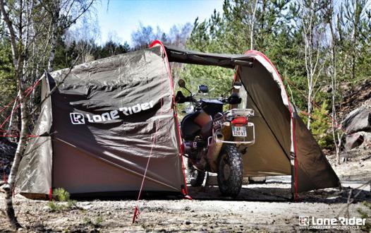 tente pour voyage moto