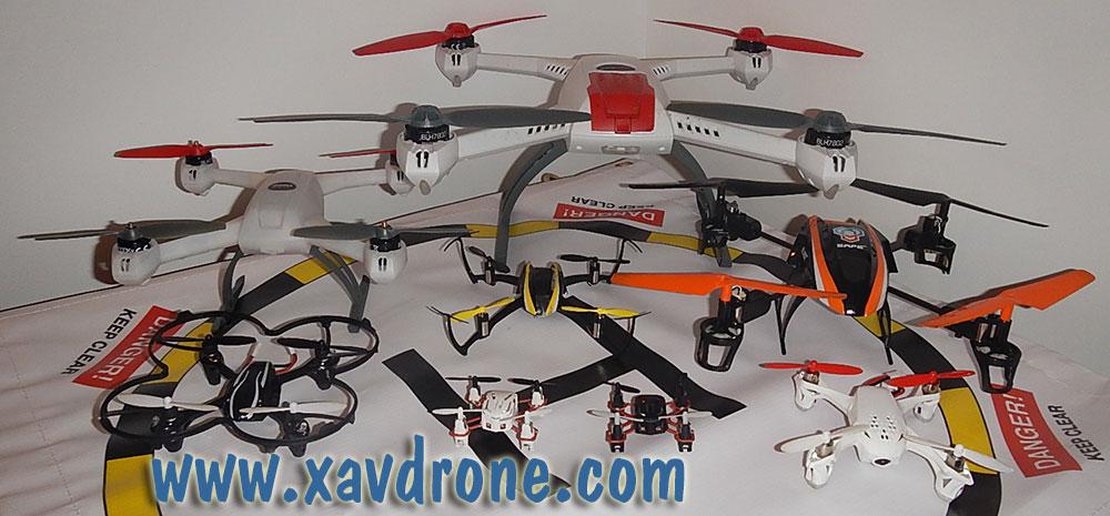 test de drone