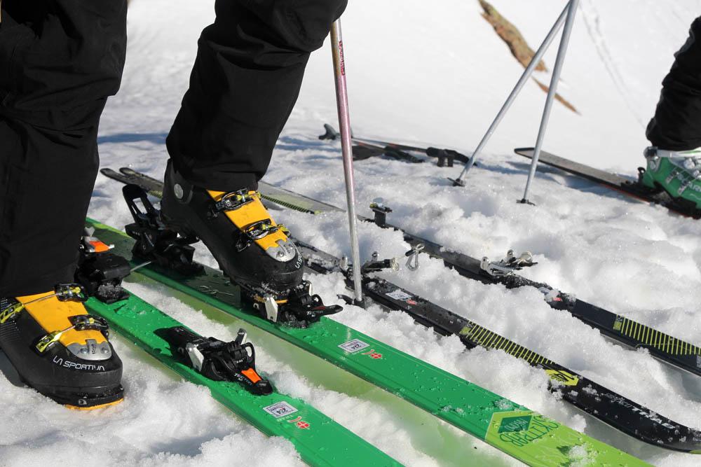 test fixation ski