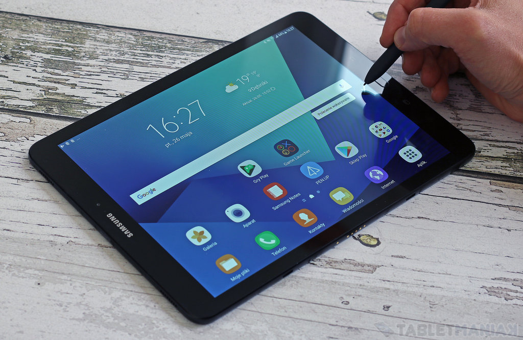 test galaxy tab s3