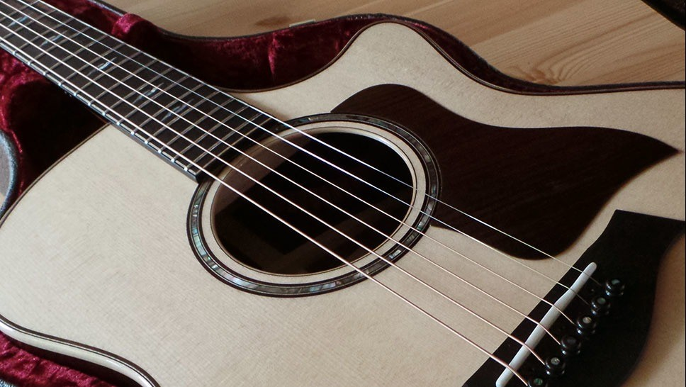 test guitare electro acoustique