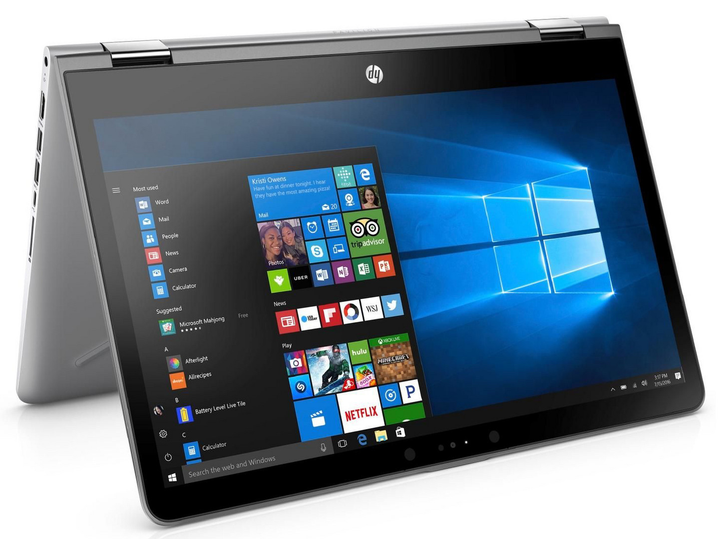 test hp pavilion x360