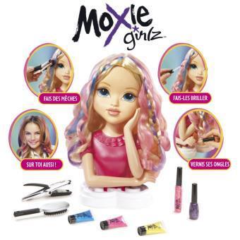 tête à coiffer moxie girlz