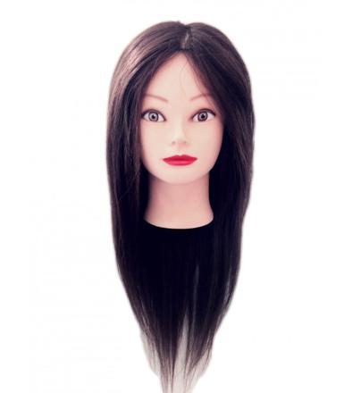 tete a coiffer professionnelle cheveux naturels