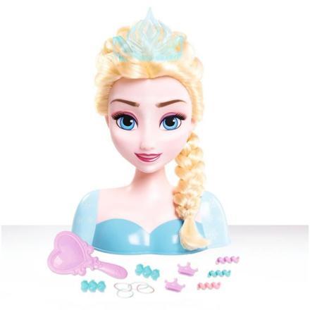 tête a coiffer reine des neige
