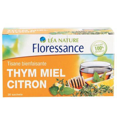 tisane thym miel citron