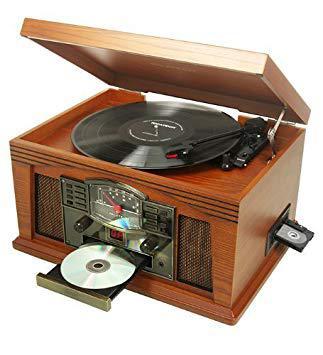 tourne disque lecteur cd