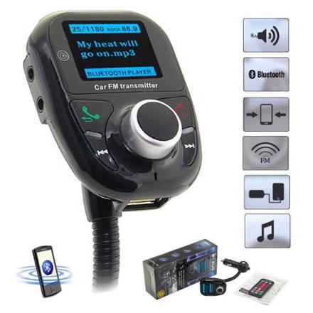 transmetteur fm bluetooth usb