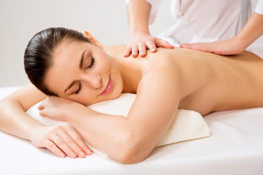 video massage du dos