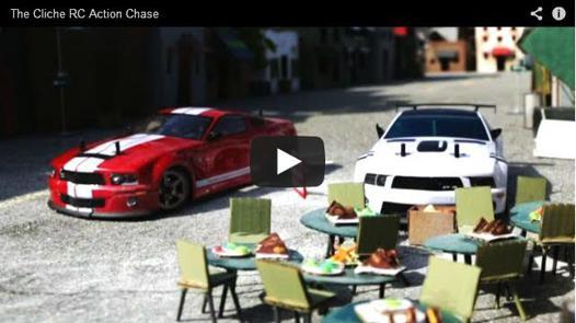 video voiture télécommandée