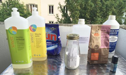 vinaigre blanc huile essentielle