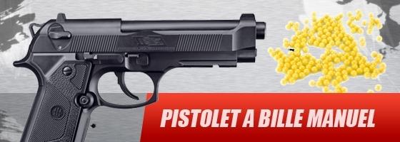 achat pistolet a bille