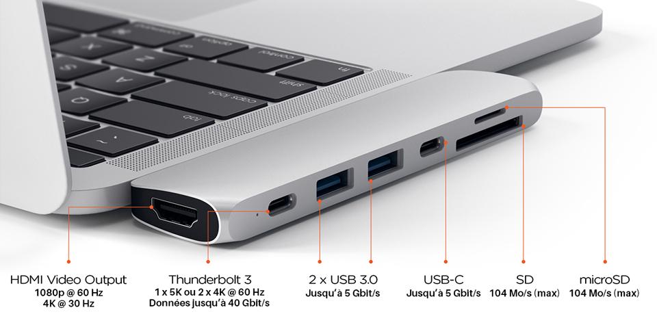 adaptateur macbook